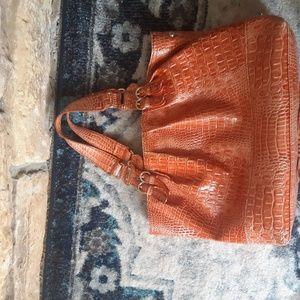 Large orange Jessica Simpson purse